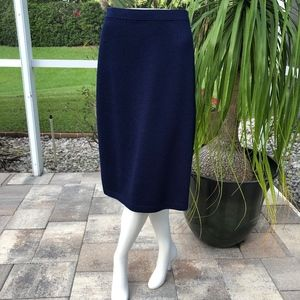 NWT St John Size 14 Skirt with color Ink